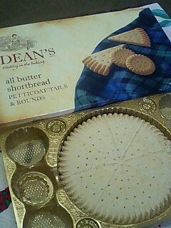 スコットランドのクッキー